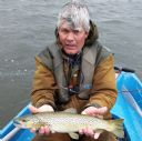 Alan Shaw with 3.5 lbs Watten Trout. June 2015