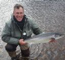 Alex Fraser with Helmsdale Salmon. Bt6  29/03/2018